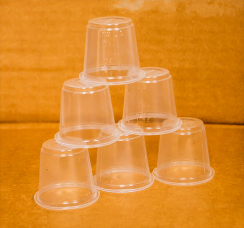 Plastic Portion Cups 200 units