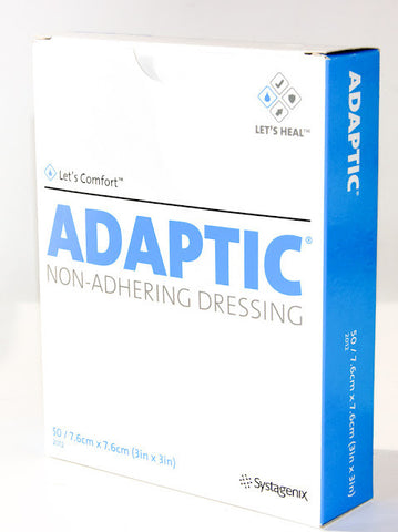 Adaptic Non-Adhering Dressing 7.6 x 7.6cm - Box 50