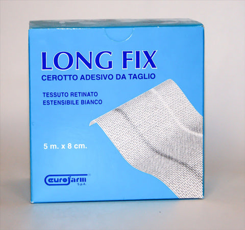 Long Fix White Fabric Plaster 5m x 8cm