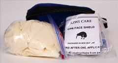 CPR Key Ring Mask with Latex Gloves