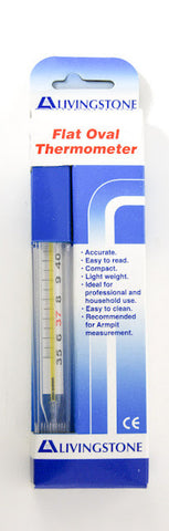 Livingstone Flat Oval Thermometer