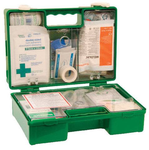 First Aid Kit 25 Person - Portable, Wall Mountable
