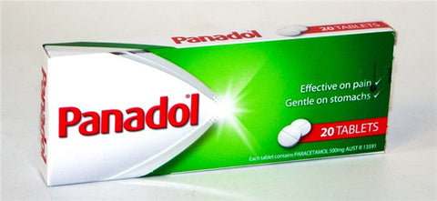 Panadol Tablets 20's