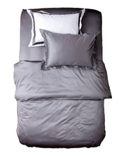 Load image into Gallery viewer, Grey Duvet Cover 500TC