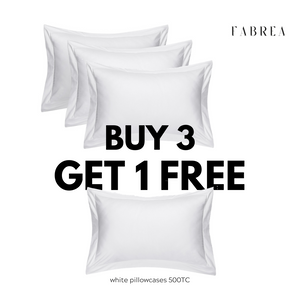 Buy 3 Get 1 Free | CLASSIC Pillowcase 500TC