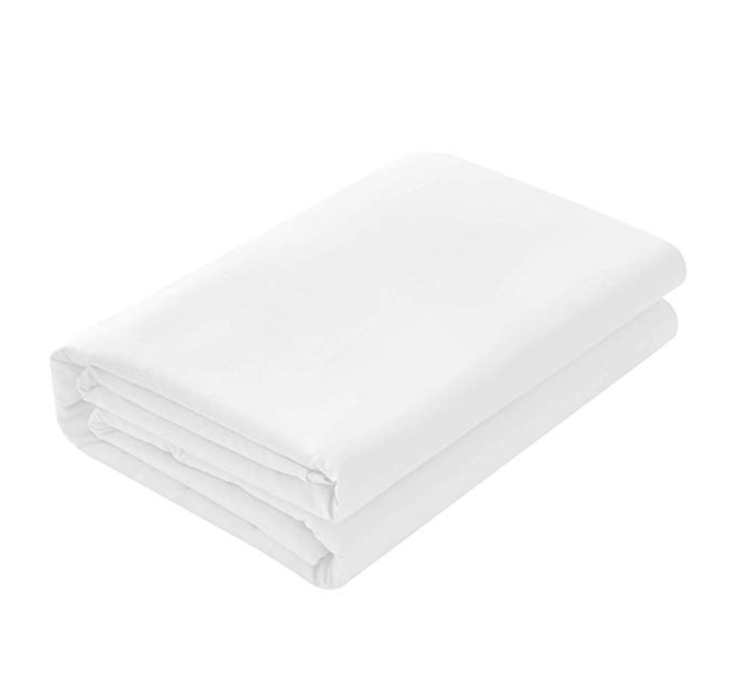 CLASSIC | White Flat Bed Sheet 500TC