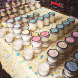 Lighten Up Shoppe mason jar candles