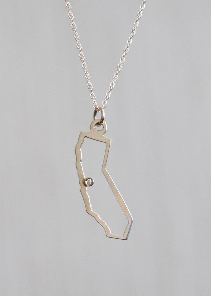 Maya Brenner California pendant necklace