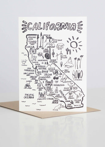 Letterpress California People I've Loved by Carissa Potter