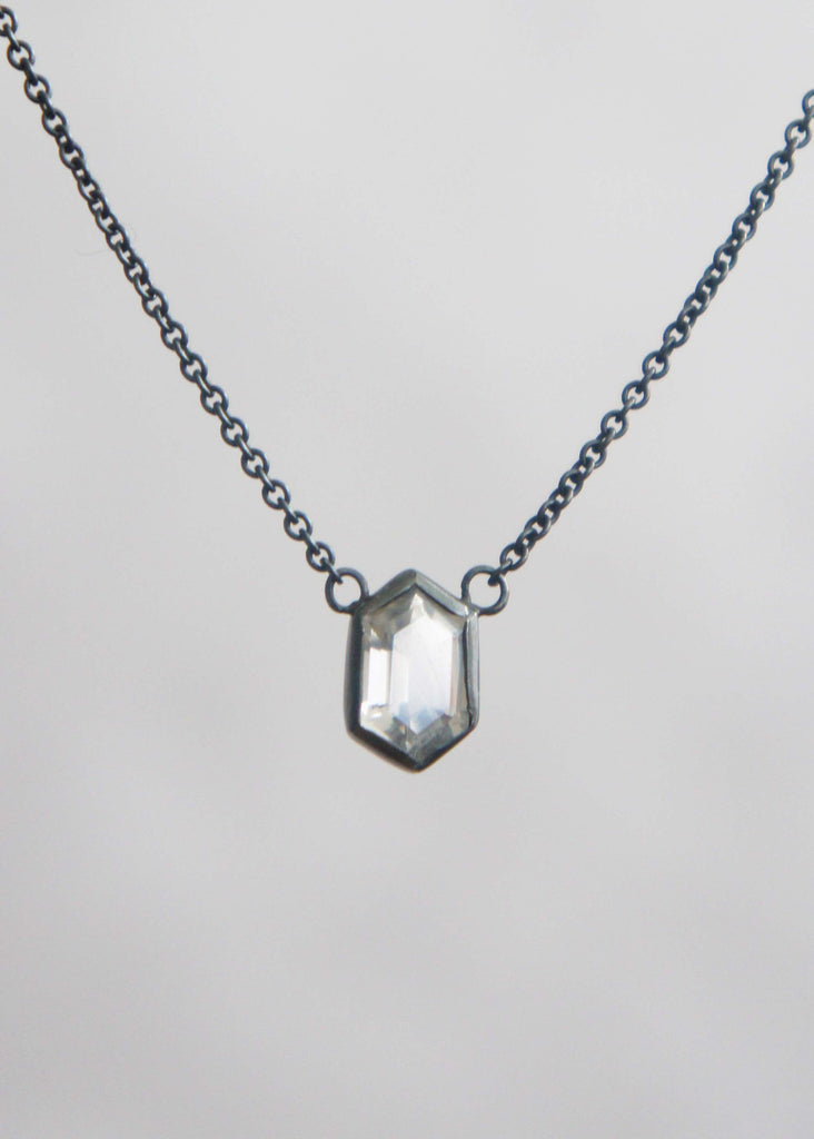 Corey Egan Hexagon Crystal Necklace