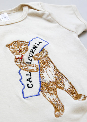 Spitfire Girl California Bear Onesie or Tee
