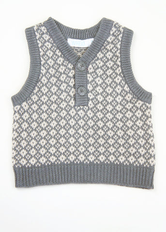 Wheat Knit Vest