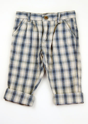 Wheat Plaid Pants