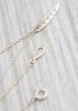 branch diamond leaf necklace clasp