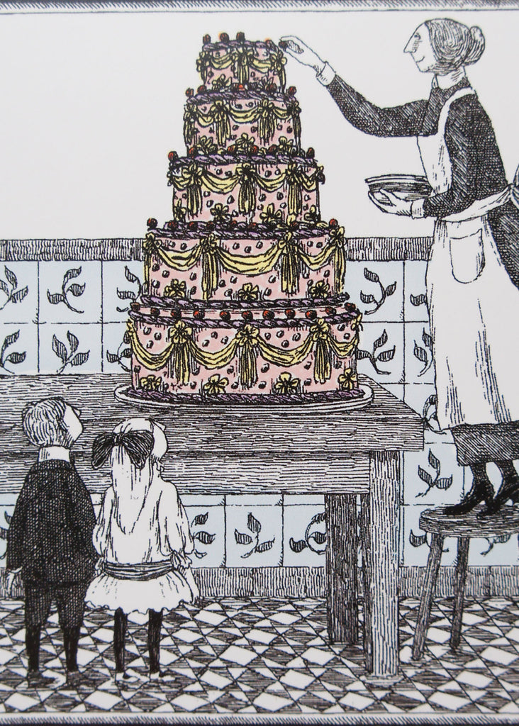 Edward Gorey Birthday Cake