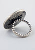 Jessica Elliot Sterling Silver Onyx Ring
