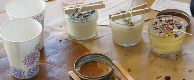 Lighten Up Shoppe Candle Making Class