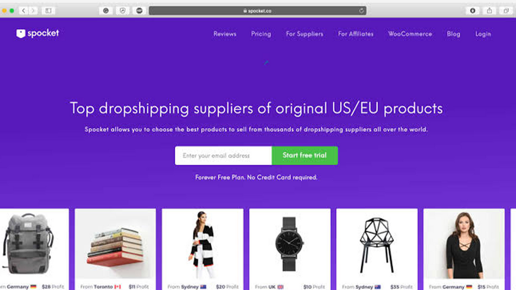 Dropship Products From US and EU Suppliers