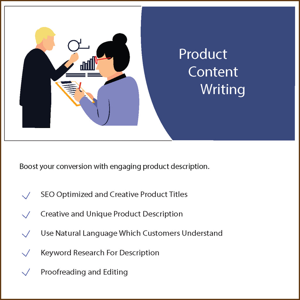 Product Content Writing