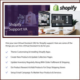 Shopify Expert Virtual Assistant - Consult Shopify VA