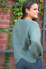 Load image into Gallery viewer, Sage Knit Sweater