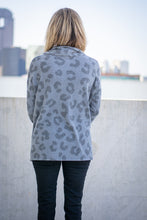 Load image into Gallery viewer, Grey Leopard hi-low Top