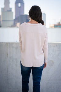 Nude Thermal Button Top