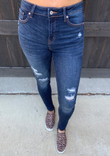 Load image into Gallery viewer, Dark Wash and Distressed Denim-3/25