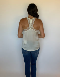 Catch Me Downtown Cream Camisole
