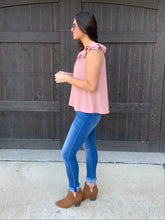 Load image into Gallery viewer, Dusty Pink Blouse-SMALL