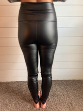 Load image into Gallery viewer, Faux Leather Leggings- SMALL