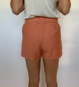 Go Anywhere Tie Waist Shorts