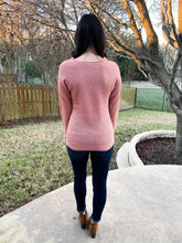 Load image into Gallery viewer, Not So Basic Sweater- Mauve