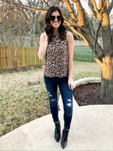 Load image into Gallery viewer, Leopard High Neck Tank