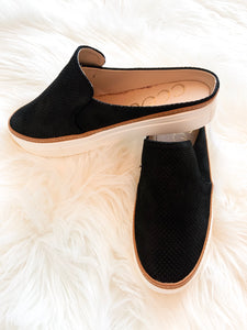 Black Slide Sneakers