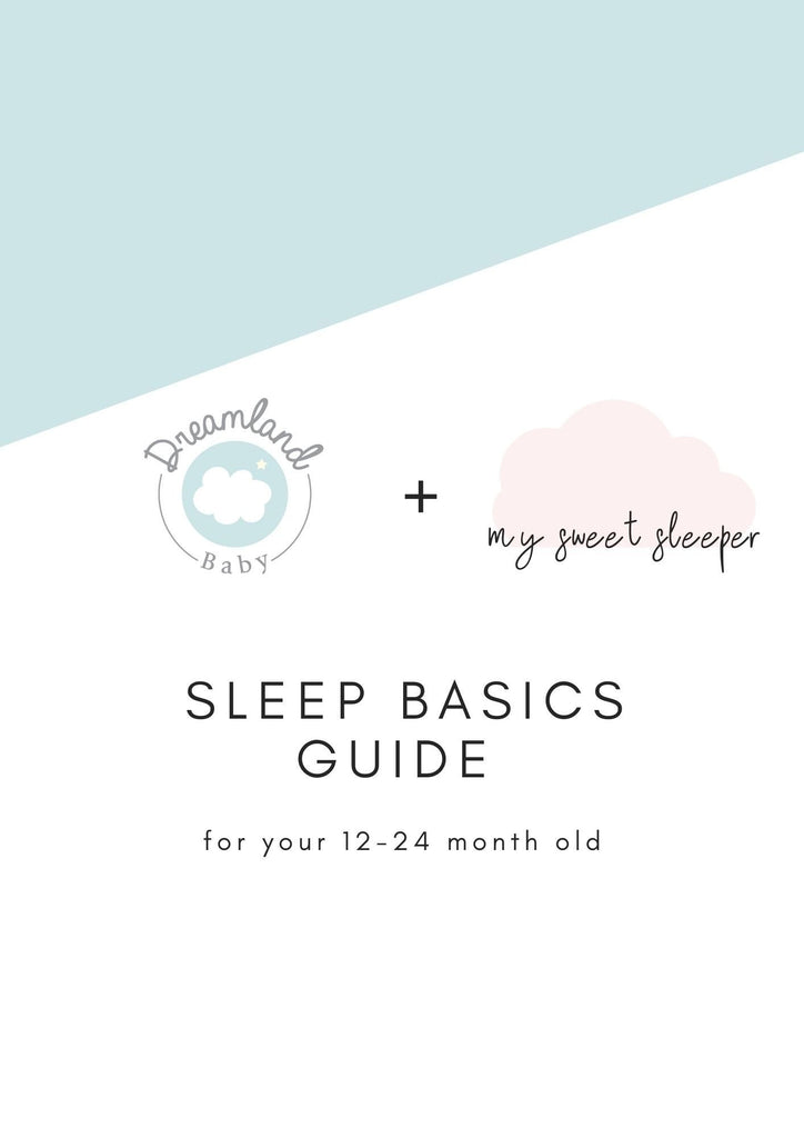 Sleep Basics Guide, 12-24 months - Dreamland Baby