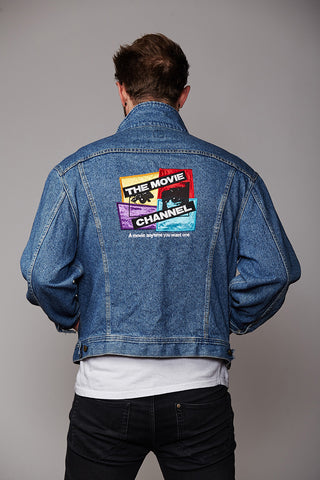 Custom Vintage Lee Denim Jacket