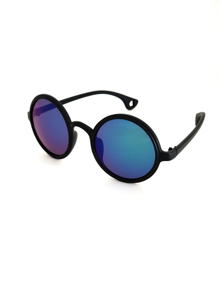 Hippie Style Retro Round Sunglasses