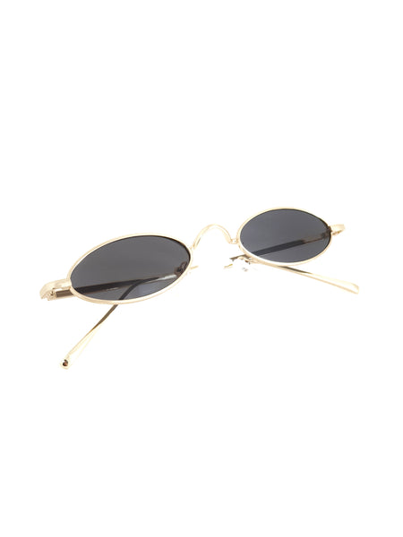 Oval Shaped Retro Sunglasses