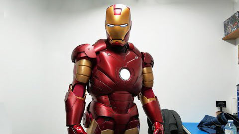 IRON MAN MARK 3 REPLICA COSPLAY FULL SUIT UP!