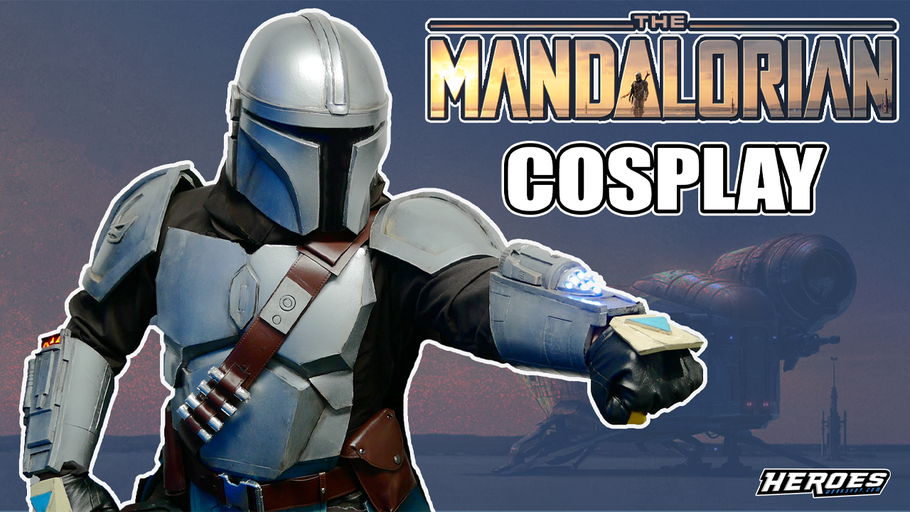 Mandalorian Cosplay Full Build + Suit Up Test