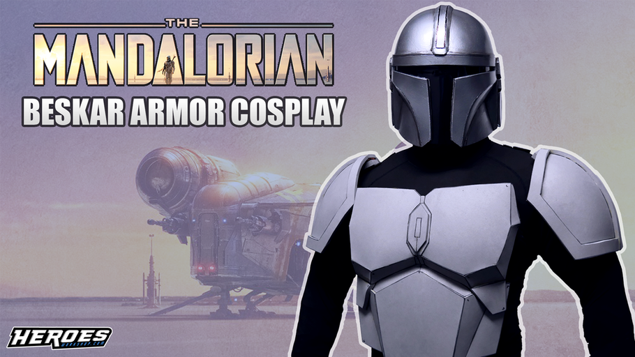 The Mandalorian Cosplay Armor - Chest and Shoulders!