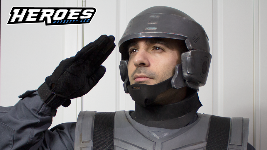 Starship Troopers Helmet Tutorial - FREE TEMPLATE