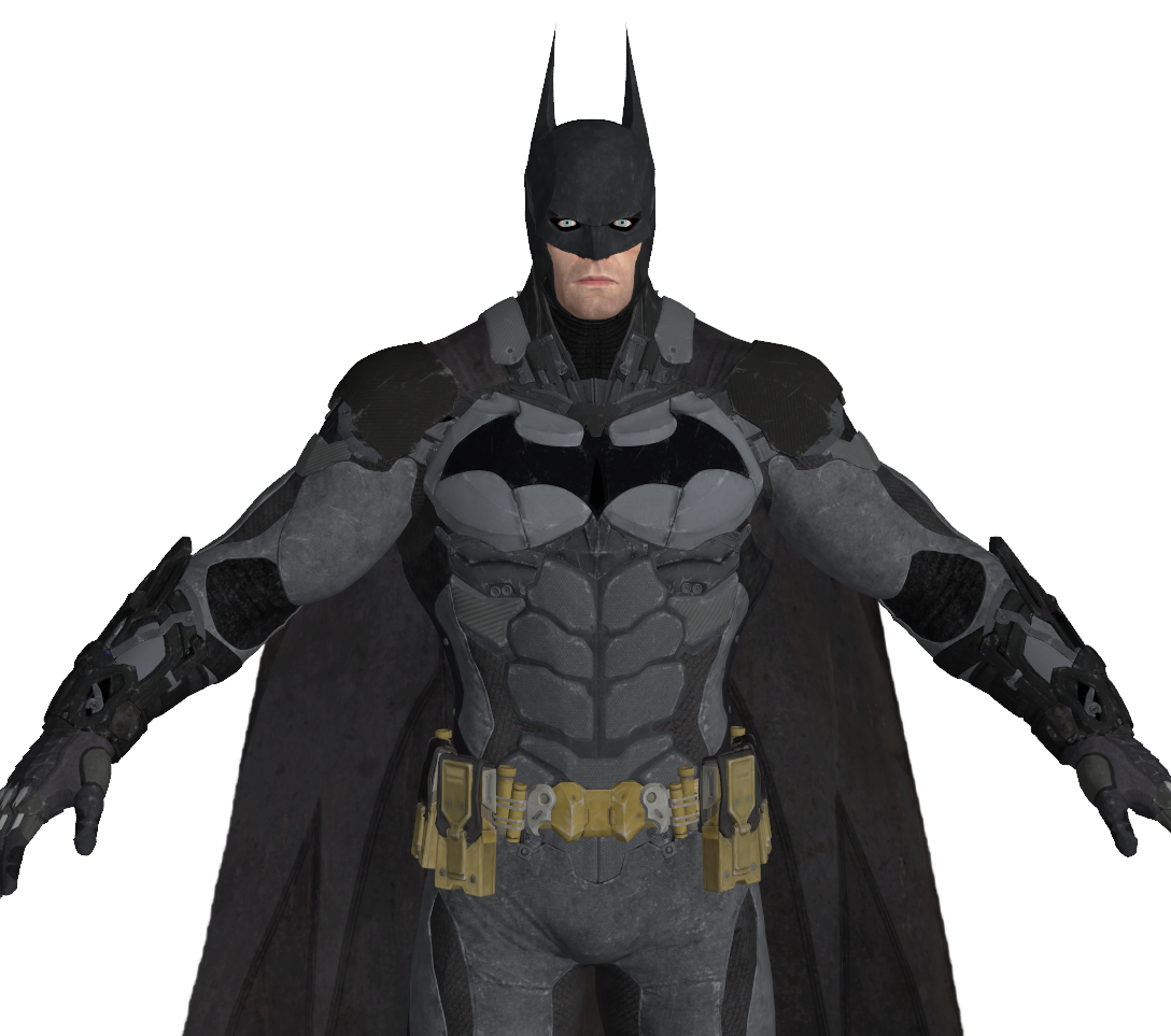 Batman Arkham Knight Armor Cosplay Foam Pepakura File Templates ...