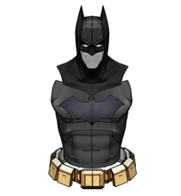Load image into Gallery viewer, Batman Mask / Armor Cosplay Parts Set Foam Pepakura File Templates