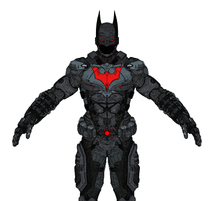 Load image into Gallery viewer, Batman Beyond Armor Cosplay Foam Pepakura File Templates