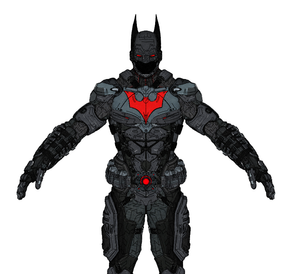 Batman Beyond Armor Cosplay Foam Pepakura File Templates