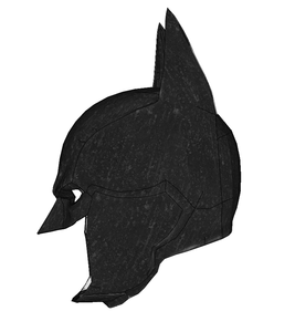 Batman Arkham Origins Cowl Cosplay Foam Pepakura File Templates