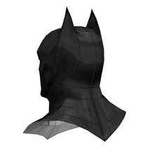 Load image into Gallery viewer, Batman Cowl FOAM Cosplay Pepakura File Template