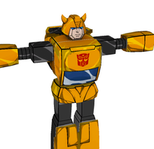 Load image into Gallery viewer, Bumblebee Transformers G1 Cosplay Full Foam Pepakura File Templates